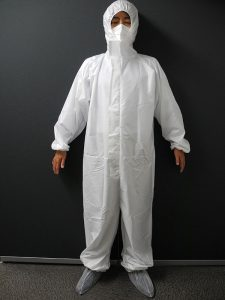 簡易処置型防護服
